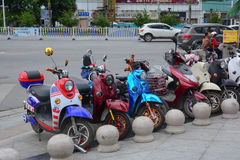 Street in Shanghai, China Stock Photo
