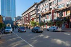 Street of Shenyang Royalty Free Stock Photo
