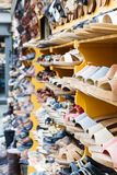 Street shoe shop in Florence Stock Image