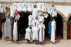 Street shop in Essaouira Morocco Royalty Free Stock Image