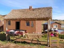 Street shop in Puno, Peru Stock Images