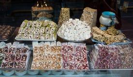 Turkish desserts Stock Image