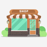 Street shop, small store front Royalty Free Stock Photography