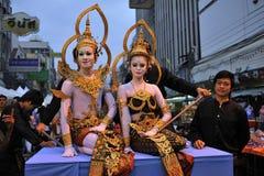 Street Show in Bangkok Royalty Free Stock Photo