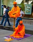 Street Show in Milan Royalty Free Stock Photo