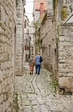 A Street of Sibenik Royalty Free Stock Image