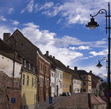 Street in Sibiu Royalty Free Stock Image