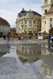 Street in Sibiu Romania Stock Images