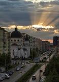 Street of Sibiu Royalty Free Stock Image