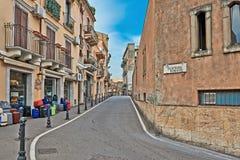 Street In Sicily Stock Photos