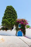 Street in Sidi Bou Said Stock Photos
