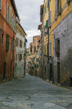 Street in Siena, Italy Royalty Free Stock Images