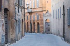 Street in Siena, Italy Royalty Free Stock Photos