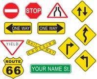 Street Sign vector illustration