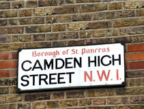 Street sign Stock Images