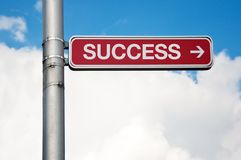Street sign - career Royalty Free Stock Photography