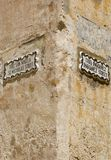 Street sign in the city of Mdina. That was founded as Maleth in around the 8th century BC by Phoenician settlers on the island of Malta royalty free stock image