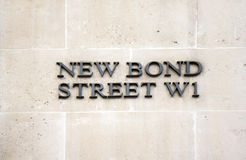 Street sign in London Stock Photography