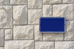 Street sign or other Royalty Free Stock Photo