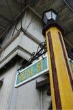 Street sign Rizal. Old manila ,Philippines royalty free stock image