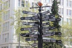 Street sign Stock Photo