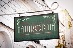 Street Sign to Naturopath