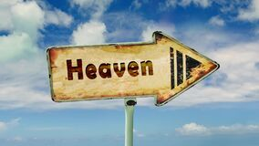 Street Sign to Heaven