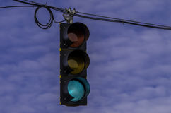 Street signal. Stock Photos