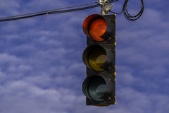 Street signal. Royalty Free Stock Image