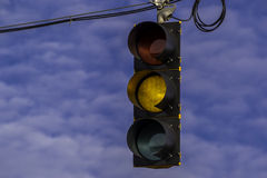 Street signal. Royalty Free Stock Photography