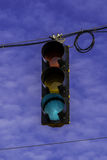 Street signal. Royalty Free Stock Images