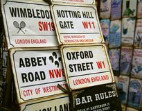 Street signs Royalty Free Stock Photo