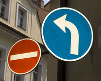 Street signs Royalty Free Stock Image