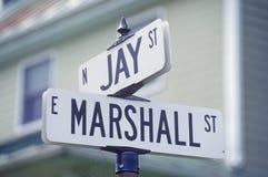 Street signs Stock Photos