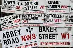 Street signs Stock Image