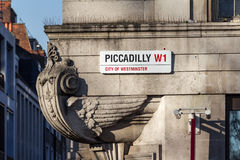 Street signs in London Stock Images