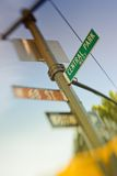 Street signs - Manhattan Stock Image