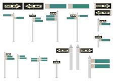 Street signs. Stock Photo
