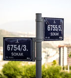 Street Signs Stock Images