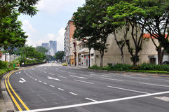 Street in Singapore. Street View in Singapore (Orchard Road / Handy Road Stock Photography