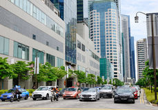 Street in Singapore Royalty Free Stock Images
