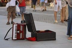 Street singer abstract Stock Photos