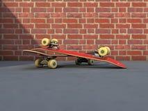 Street skateboard Stock Photo