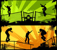 Street Skaters Stock Photography