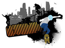 Street Skaters Royalty Free Stock Image