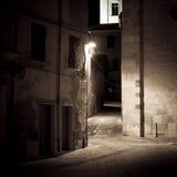 Street of a small Italian village Royalty Free Stock Photo