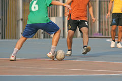 Street soccer Royalty Free Stock Photos