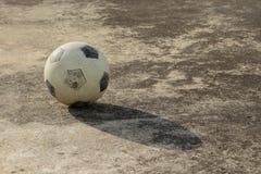 Street soccer ball Royalty Free Stock Image