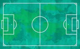 Street soccer field grunge style. Easy edit Stock Image