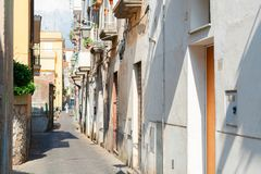 Sorrento, southern Italy. Street of Sorrento at summer day, southern Italy Stock Images